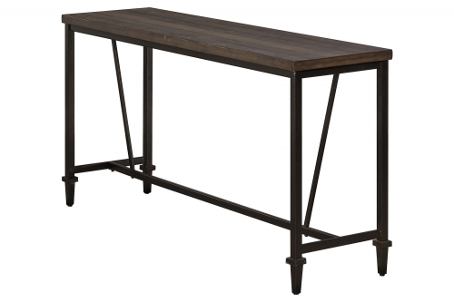 Trevino Sofa Table - Walnut/Brown