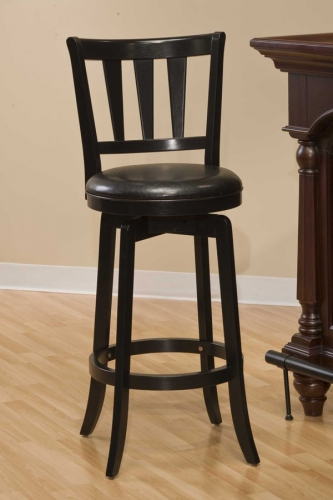 Presque Isle Swivel Counter Stool - Black