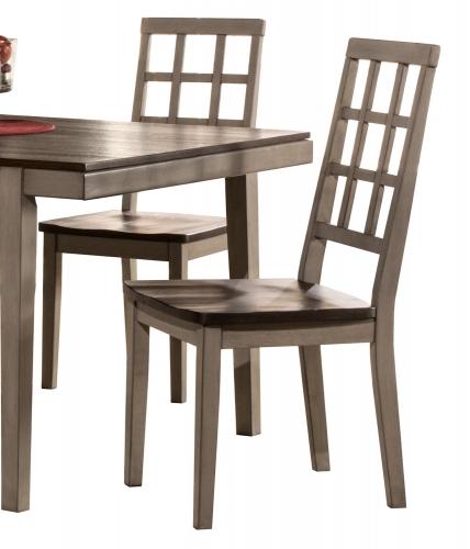 Garden Park Dining Chair - Gray/Espresso
