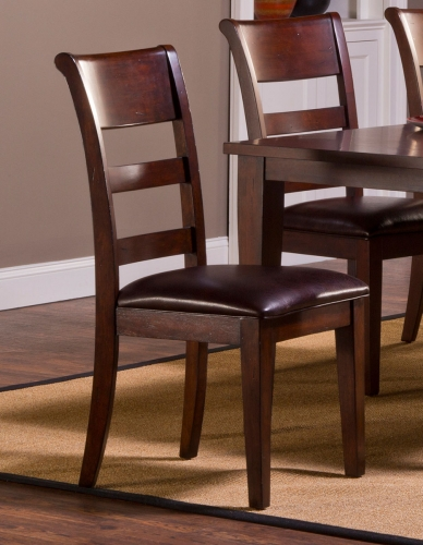 Park Avenue Dining Side Chair - Dark Cherry