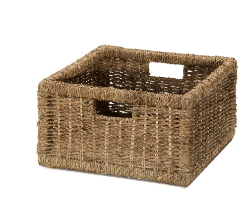 Seneca Basket - 1 Pack - Natural Seagrass