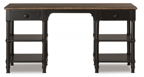 Seneca Desk - Waxed Black