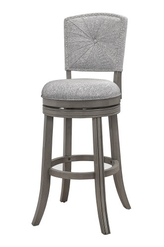 Santa Clara II Swivel Bar Stool - Antique Gray