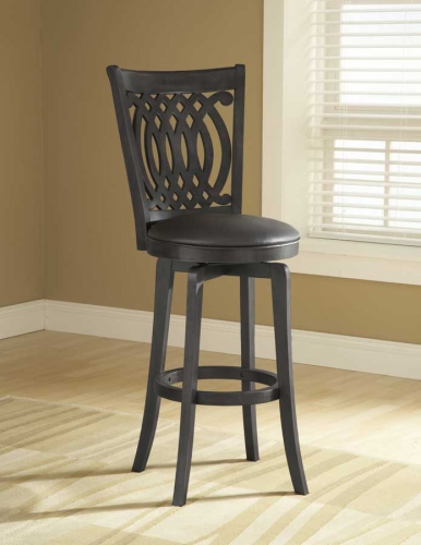 Van Draus Swivel Barstool and Flare Leg
