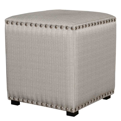 Lani Vanity Stool - Gray