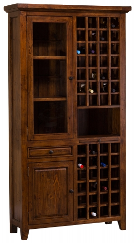 Tuscan Retreat Tall Wine Storage