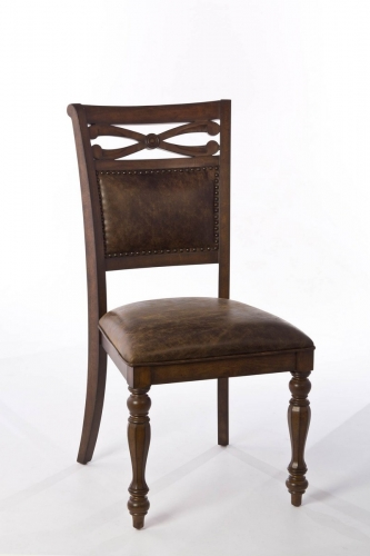 Seaton Springs Dining Chair - Weathered Walnut