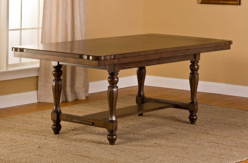 Seaton Springs Dining Table - Weathered Walnut