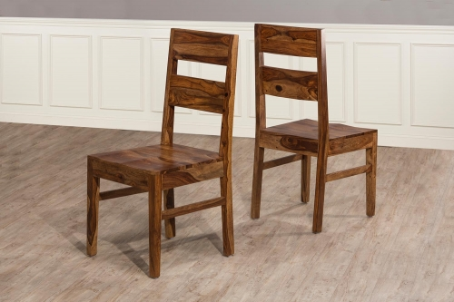Emerson Dining Chair - Natural Sheesham