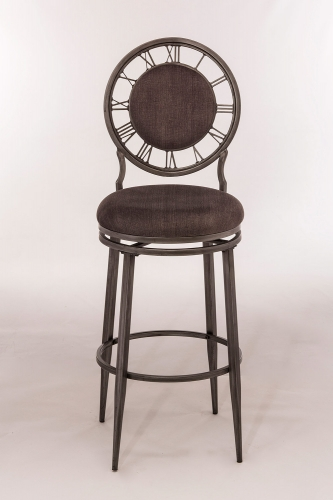 Big Ben Swivel Counter Stool - Pewter