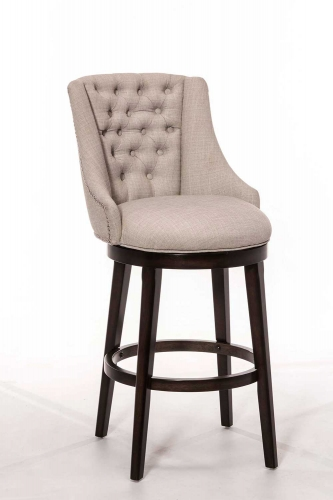 Halbrooke Swivel Counter Stool - Chocolate