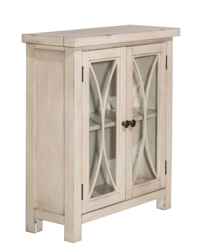 Bayside 2-Door Cabinet - Antique White