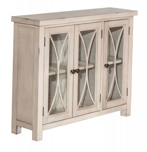 Bayside 3-Door Cabinet - Antique White