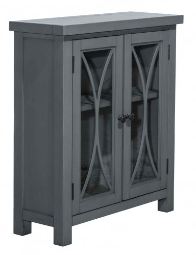 Bayside 2-Door Cabinet - Robin Blue