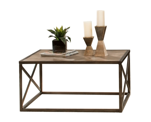 Angora Coffee Table - Brown