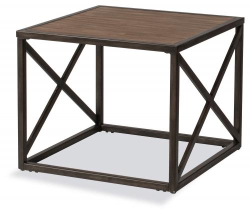 Angora End Table - Brown