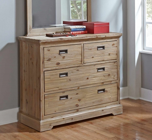 Oxford 4 Drawer Dresser - Cocoa
