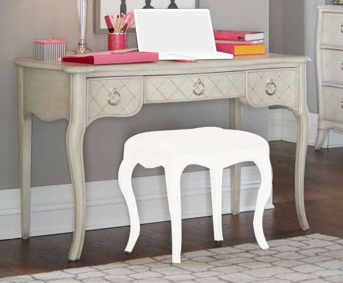 Angela Desk - Opal Grey