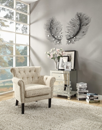 Barlowe Accent Chair - French Note Pring