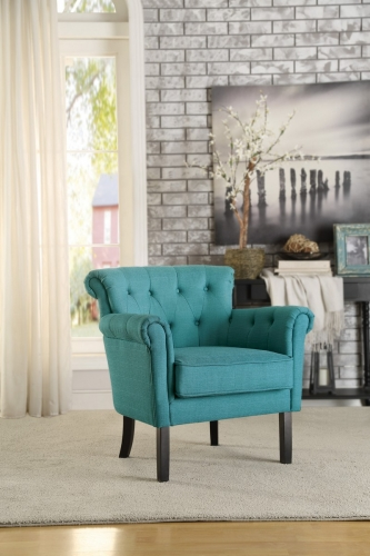 Barlowe Accent Chair - Dark Teal