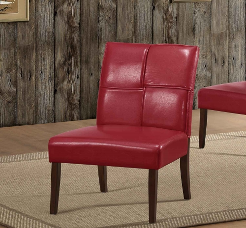 Oriana Accent Chair - Red