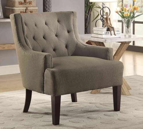 Dulce Accent Chair - Grey