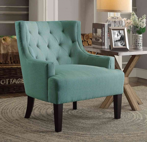 Dulce Accent Chair - Teal