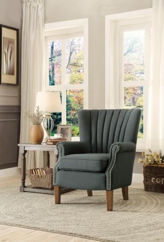 Essex Accent Chair - Dark Grey