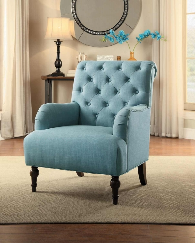 Cotswold Accent Chair - Blue