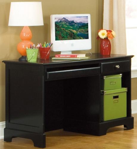 Homelegance Morelle Writing Desk - Black