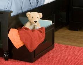 Homelegance Morelle Toy Box - Black