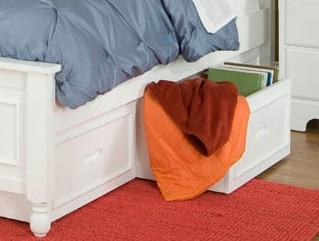 Homelegance Morelle Toy Box - White