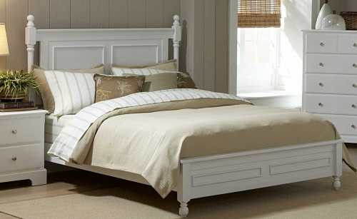 Morelle Bed - White