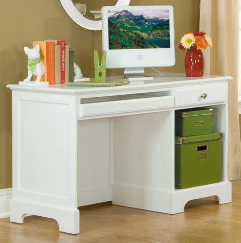 Homelegance Morelle Writing Desk - White
