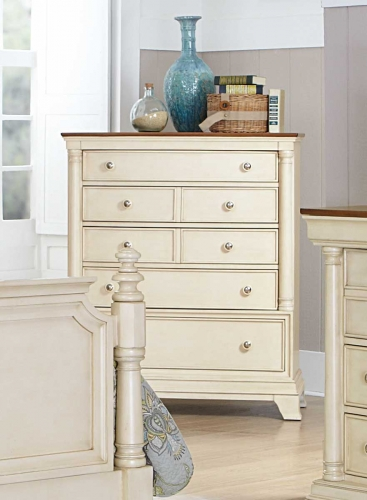 Inglewood II Chest - White Finish