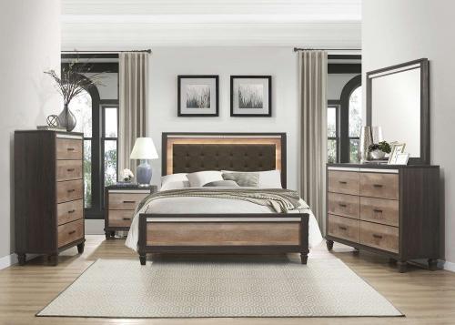 Danridge Bedroom Set - Brown and Espresso