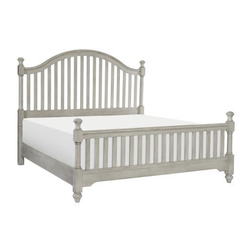 Moosbrook Bed - Light Gray