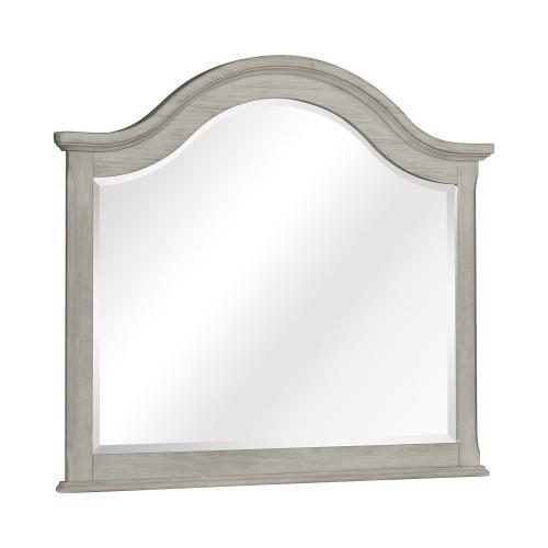 Moosbrook Mirror - Light Gray