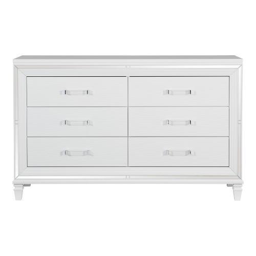 Tamsin Dresser - White Metallic