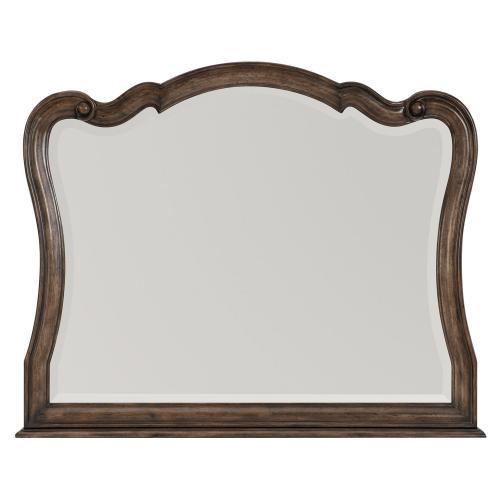 Heath Court Mirror - Brown Oak