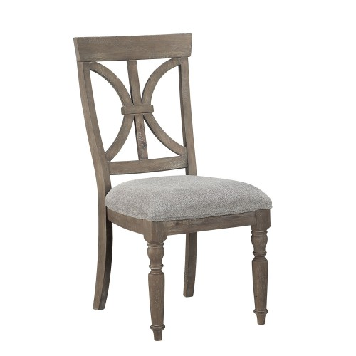 Cardano Side Chair - Driftwood Light Brown