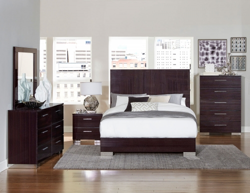 Moritz Bedroom Set - High Gloss