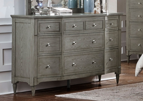 Albright Dresser - Barnwood Grey