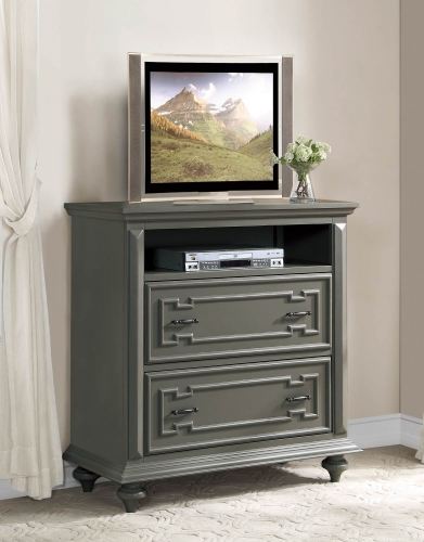 Marceline TV Chest - Grey