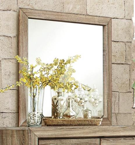 Homelegance Beechnut Mirror - Light Elm