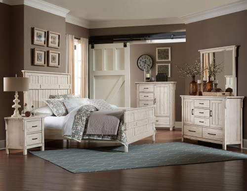 Terrace Bedroom Set - Antique White