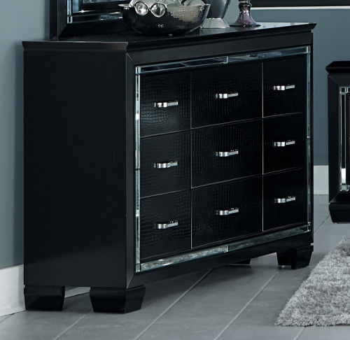 Allura Dresser - Black