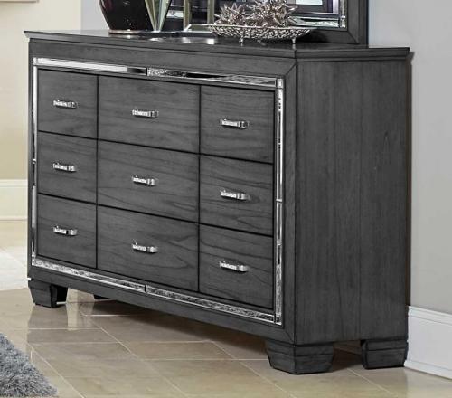 Allura Dresser - Gray