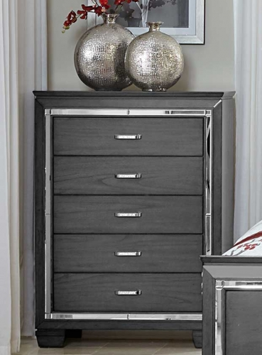 Homelegance Allura Chest - Gray