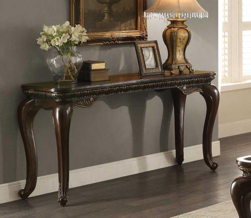 Homelegance Bonaventure Sofa Table - Cherry